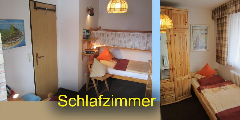 Etagenbett und Einzelbett im Kinderzimmer
